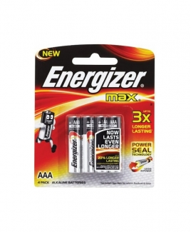 Energizer® MAX AAA Alkaline Batteries - 4pcs pack
