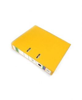 ABBA Lever Arch File - 3-inch Size - 404 Special Edition - Yellow