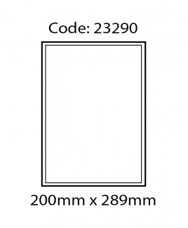 ABBA 23290 Laser Label [200mm x 289mm]