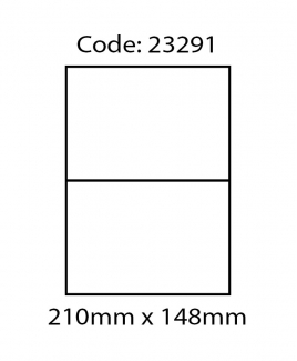 ABBA 23291 Laser Label [210mm x 148mm (A5)]