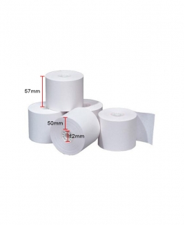 Adding Roll 57mm x 50mm x 12mm (White)