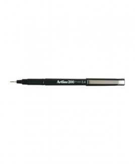 Artline 200 Fineliner Pen 0.4mm [Black]
