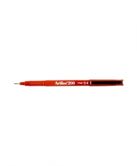Artline 200 Fineliner Pen 0.4mm [Brown]
