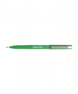 Artline 200 Fineliner Pen 0.4mm [Green]