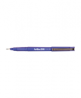 Artline 200 Fineliner Pen 0.4mm [Purple]