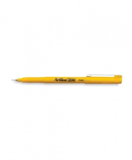 Artline 200 Fineliner Pen 0.4mm [Yellow]