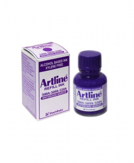Artline ESK-50A Whiteboard Marker Refill Ink 20cc [Purple]