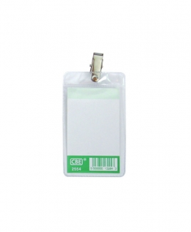 CBE 2554 Name Badge (With Clip)