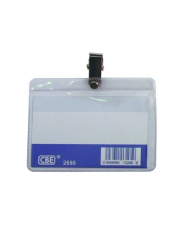 CBE 2555 Name Badge (With Clip)