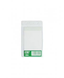 CBE 2564 Name Badge (Soft) - Vertical (Without Clip)