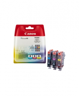 Canon CLI Value Pack ( CLI-8 Cyan+Magenta +Yellow )