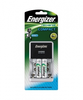 Energizer® Battery Charger CHCC + 2'S AA