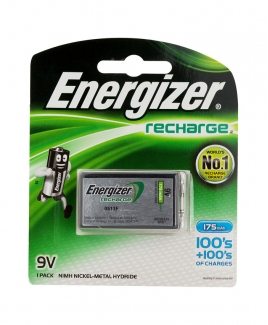 Energizer® 9V Rechargeable Battery