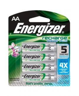 Energizer® AA Rechargeable Battery [4 packs]