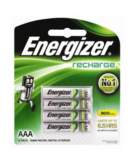 Energizer® AAA Rechargeable Battery [4 packs]