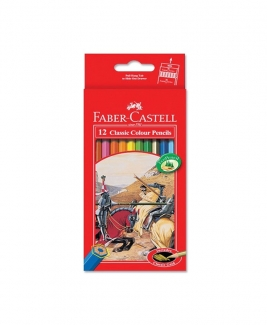 Faber Castell Classic Colouring Pencil - 12's (L)
