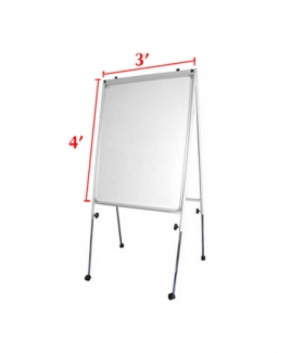 "Flip Chart with Stand 3"" x 4"""