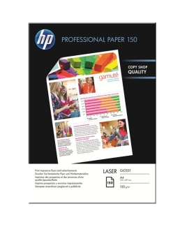 HP CG965A Professional Laser Glossy Paper (A4, 150 Sheets, 150gsm)