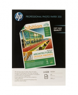 HP CG966A Professional Laser Glossy Paper (A4,100 Sheets, 200gsm)