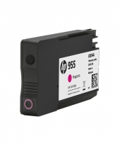 HP 955 Magenta Original Ink Cartridge (L0S54AA)