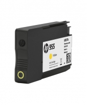 HP 955 Yellow Original Ink Cartridge (L0S57AA)