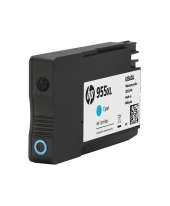 HP 955XL Cyan Original Ink Cartridge (L0S63AA)