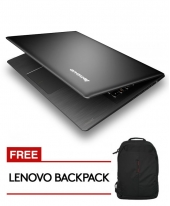 Lenovo IDEAPAD 500S-14ISK [Black] i5-6200U Processor / 4GB Ram / 256GB SSD / Win 10 Home
