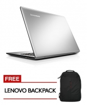 Lenovo IDEAPAD 500S-14ISK [Silver] i5-6200U Processor / 4GB Ram / 256GB SSD / Win 10 Home