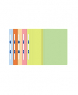 ABBA Manila Flat File 350 (Plastic Clip) - Orange