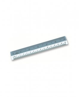 "Straight Plastic Ruler 6"" Inch/ 12cm"